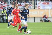 Joni Kauko (FSV) gegen Erwin Hoffer (Fortuna) - FSV Frankfurt vs. Fortuna Düsseldorf, Frankfurter Volksbank Stadion