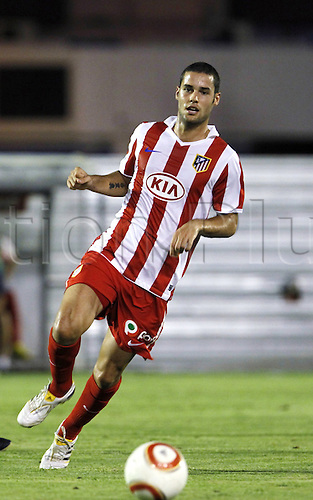 Mario Suarez (Atletico), AUGUST 06, 2010 - Football : Pre Season match between Cadiz and Atletico de Madrid at the Ramon de Carranza Stadium on August 06, 2010 in Cadiz, Spain.