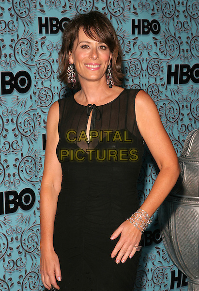 JANE KACZMAREK.HBO's Post Emmy Party following the 57th Annual Primetime Emmy Awards held at the Pacific Design Center, West Hollywood, California. .September 18th, 2005.Photo Credit: Zach Lipp/AdMedia/Capital Pictures.Ref: ZL.half length black sleeveless bracelets dangling earrings.www.capitalpictures.com.sales@capitalpictures.com.© Capital Pictures.