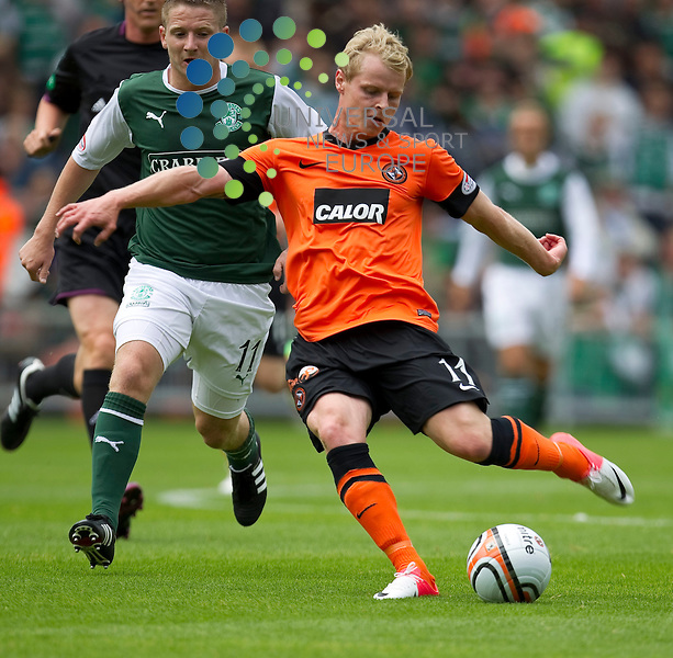 Dundee United v Hibernian SPL season 2012-2013 ..Gary Mackay-Steven during the Clydesdale Bank Premier League match between Dundee United and Hibernian at Tannadice Park on 5 August 2012...Picture: Alan Rennie/Universal News and Sport (Scotland).
