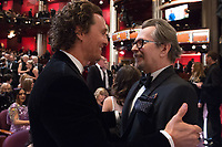 Oscar&reg; winners Matthew McConaughey and Gary Oldman at the The 90th Oscars&reg; at the Dolby&reg; Theatre in Hollywood, CA on Sunday, March 4, 2018.<br /> *Editorial Use Only*<br /> CAP/PLF/AMPAS<br /> Supplied by Capital Pictures