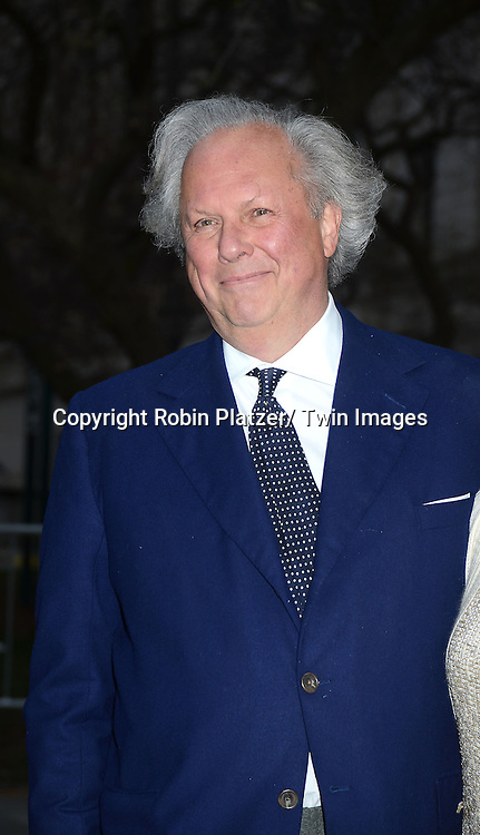 Graydon Carter attends the Vanity Fair Party for the 2013 Tribeca Film Festival on April 16, 2013 at State Suprme Courthouse in New York City.