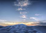 Dusk, White Sands National Monument