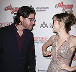 James Barbour & Jill Paice sporting a pair of signature 'Ralphie' specs at the Broadway Opening Night Performance for 'A Christmas Story - The Musical'  at the Lunt Fontanne Theatre in New York City on 11/19/2012.