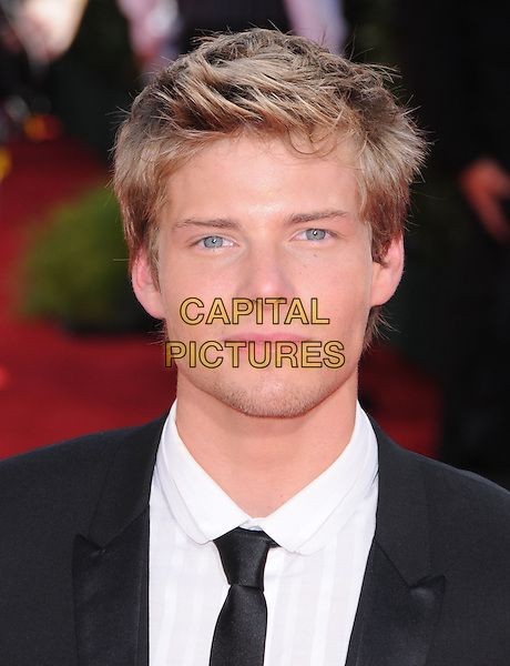 HUNTER PARRISH.Arrivals at the 61st Primetime Emmy Awards held at Te Nokia Theater in Los Angeles, California, USA..September 20st, 2009     .emmys headshot portrait black white.CAP/DVS.©Debbie VanStory/Capital Pictures.