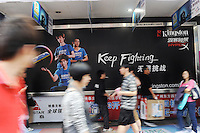 An advertisement for Kingston in Guangzhou, China..China's retail sales, the main gauge of consumer spending in the world's fastest-growing economy, rose 18.5 percent year on year to 1.15 trillion yuan (168.52 billion U.S. dollars) in April..