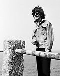 Beatles George Harrison during Magical Mystery Tour September 1967..© Chris Walter..