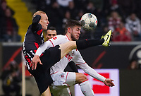Sebastian Rode (Eintracht Frankfurt) gegen Jan Thielmann (1. FC Koeln) - 18.12.2019: Eintracht Frankfurt vs. 1. FC Koeln, Commerzbank Arena, 16. Spieltag<br /> DISCLAIMER: DFL regulations prohibit any use of photographs as image sequences and/or quasi-video.