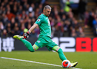 7th March 2020; Selhurst Park, London, England; English Premier League Football, Crystal Palace versus Watford; Goalkeeper Vicente Guaita of Crystal Palace