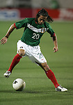 1 March 2006: Mexico's Jose Antonio Castro. The National Team of Mexico defeated the National Team of Ghana 1-0 at Pizza Hut Park in Frisco, Texas in an International Friendly soccer match.