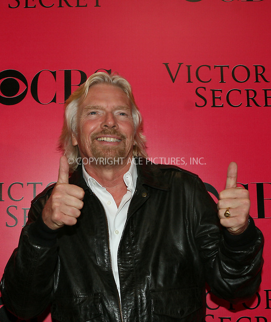 WWW.ACEPIXS.COM . . . . .  ....November 19 2009, New York City....Richard Branson arriving at the Victoria's Secret 2009 fashion show at the Armoury on November 19 2009 in New York City....Please byline: NANCY RIVERA- ACEPIXS.COM.... *** ***..Ace Pictures, Inc:  ..Tel: 646 769 0430..e-mail: info@acepixs.com..web: http://www.acepixs.com