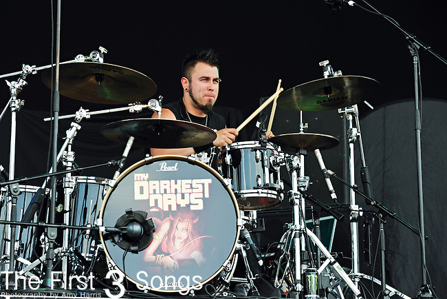 Doug Oliver of My Darkest Days performs during the 2011 Rock On The Range festival at Columbus Crew Stadium on May 21, 2011 in Columbus, Ohio.