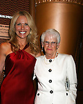 Beth Chamberlin and mom Sally - Guiding Light Actors dress up for the Captain's Dinner aboard Carnival's Glory - Day 2 - August 1, 2010 - So Long Springfield at Sea - (Photos by Sue Coflin/Max Photos)