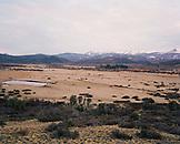ARGENTINA, Patagonia, high angle view of field at Nahuel Huapi National Park