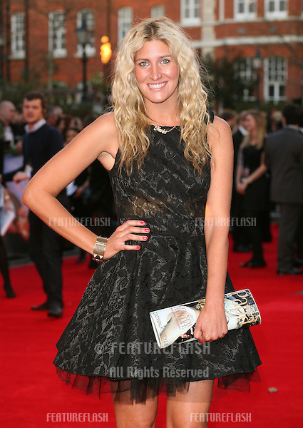 Francesca Hull (Cheska) arriving for the Titanic 3D film premiere, Royal Albert Hall, London. 27/03/2012 Picture by: Alexandra Glen / Featureflash