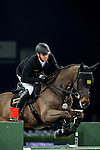Marco Kutscher of Germany rides Cornet's Cristallo in action during the Longines Grand Prix as part of the Longines Hong Kong Masters on 15 February 2015, at the Asia World Expo, outskirts Hong Kong, China. Photo by Victor Fraile / Power Sport Images