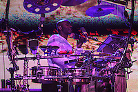 ATENÇÃO EDITOR: FOTO EMBARGADA PARA VEÍCULOS INTERNACIONAIS SÃO PAULO,SP,08 FEVEREIRO 2013 -SHOW JAMIROQUAI -Show da banda Jamiroquai realizado na noite de ontem (07) no Credicard Hall.  FOTO ALE VIANNA  - BRAZIL PHOTO PRESS.