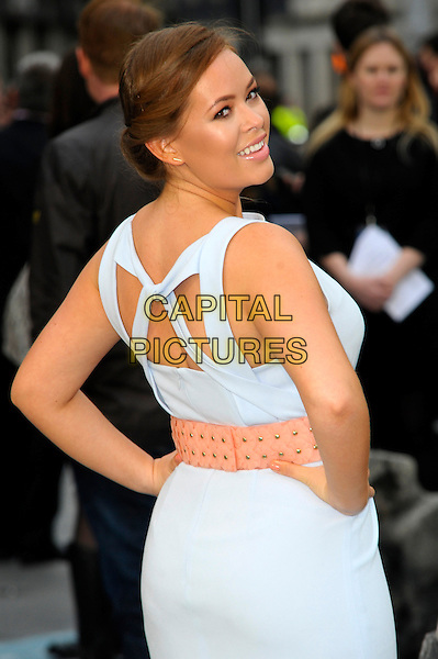 LONDON, ENGLAND - MARCH 31: Tanya Burr attends the UK Premiere of 'Noah' at the Odeon Leicester Square on March 31, 2014 in London, England<br /> CAP/CJ<br /> &copy;Chris Joseph/Capital Pictures