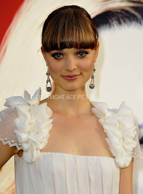 WWW.ACEPIXS.COM . . . . .  ....May 7 2012, LA....Bella Heathcote arriving at the premiere of 'Dark Shadows' at Grauman's Chinese Theatre on May 7, 2012 in Hollywood, California.....Please byline: PETER WEST - ACE PICTURES.... *** ***..Ace Pictures, Inc:  ..Philip Vaughan (212) 243-8787 or (646) 769 0430..e-mail: info@acepixs.com..web: http://www.acepixs.com