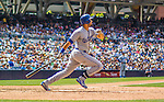 23 June 2013: Los Angeles Dodgers outfielder Andre Ethier in action against the San Diego Padres at Petco Park in San Diego, California. The Dodgers defeated the Padres 3-1, splitting their 4-game Divisional Series at 2-2. Mandatory Credit: Ed Wolfstein Photo *** RAW (NEF) Image File Available ***