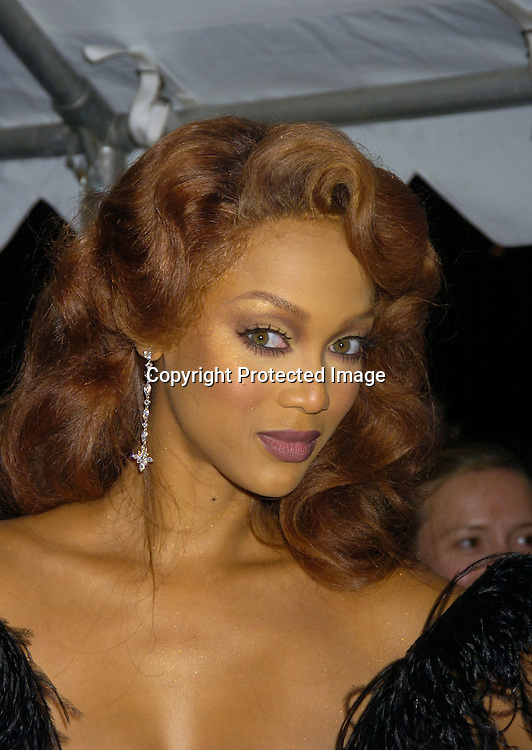 Tyra Banks ..arriving at The 32nd Annual Daytime Emmy Awards ..at Radio City Music Hall on May 20, 2005...Photo by Robin Platzer, Twin Images