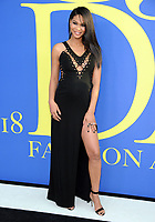 BROOKLYN, NY - JUNE 4: Chanel Iman at the 2018 CFDA Fashion Awards at the Brooklyn Museum in New York City on June 4, 2018. <br /> CAP/MPI/JP<br /> &copy;JP/MPI/Capital Pictures
