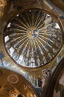 Europe/Turquie/Istanbul : Mosaques de l'indonarthex  de l'église Saint-Sauveur, Musée Kariye, Ancienne  église Saint-Sauveur- Mosaïques dans la coupole de la généalogie du Christ