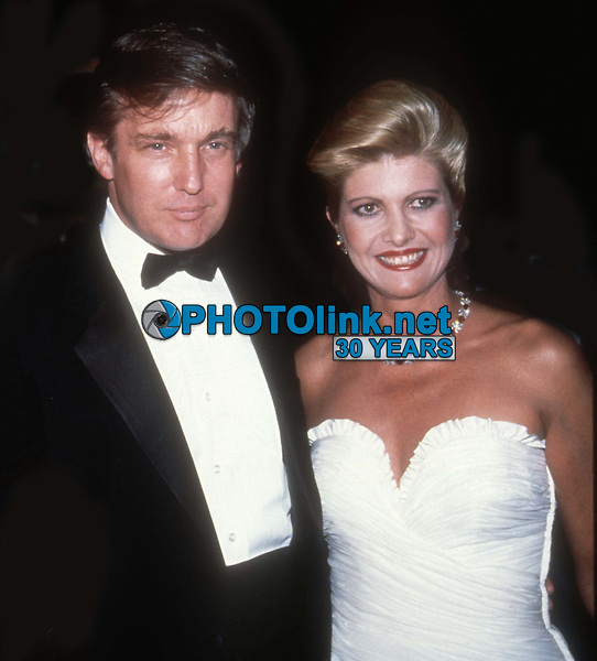 #DonaldTrump #IvanaTrump 1985<br /> Photo By Adam Scull/PHOTOlink.net