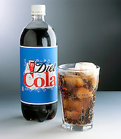 DIET COLA WITH ASPARTAME<br /> Artificial sweetener<br /> Aspartame is C14H18N2O5, a dipeptide ester about 160 times sweeter than sucrose in solution.