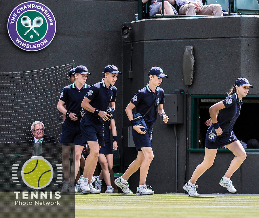 AMBIENCE<br /> <br /> The Championships Wimbledon 2014 - The All England Lawn Tennis Club -  London - UK -  ATP - ITF - WTA-2014  - Grand Slam - Great Britain -  2nd July 2014. <br /> <br /> © Tennis Photo Network