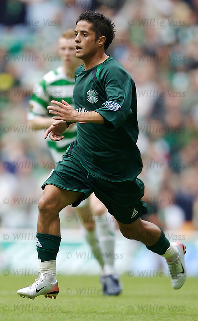 Merouane Zemmama, Hibs.stock season 2006-2007.pic willie vass