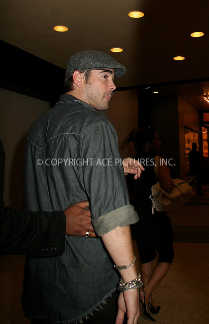 WWW.ACEPIXS.COM . . . . .  ....NEW YORK, JULY 24, 2006....Colin Farrell seen at TRL Studio.....Please byline: NANCY RIVERA- ACEPIXS.COM.... *** ***..Ace Pictures, Inc:  ..Craig Ashby (212) 243-8787..e-mail: picturedesk@acepixs.com..web: http://www.acepixs.com