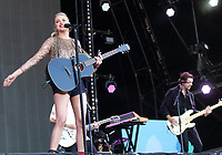 Kelsea Ballerini on stage at BBC Radio 2 Live in Hyde Park event, Hyde Park, London on Sunday September 15th 2019<br /> <br /> Photo by Keith Mayhew