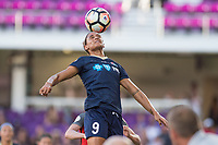 Orlando, FL - Saturday October 14, 2017: Lynn Williams during the NWSL Championship match between the North Carolina Courage and the Portland Thorns FC at Orlando City Stadium.