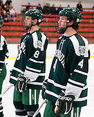 Troy Mattila (Dartmouth - 8), Jim Gaudet (Dartmouth - 4) - The Dartmouth College Big Green defeated the Harvard University Crimson 6-2 on Sunday, November 29, 2009, at Bright Hockey Center in Cambridge, Massachusetts.