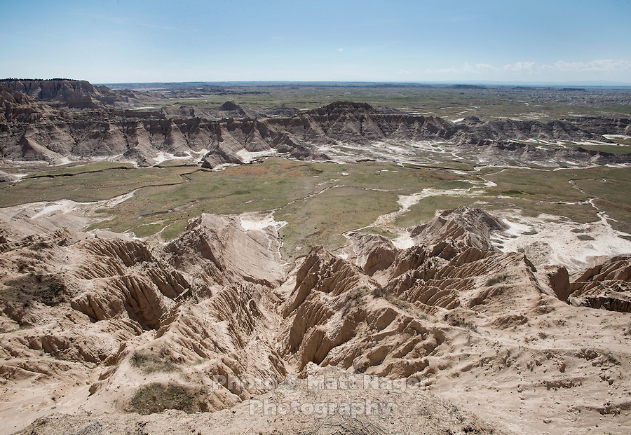 Bad Lands National Park near the Pine ridge Reservation in South Dakota, Tuesday, May 14, 2013. <br /> <br /> Photo by Matt Nager