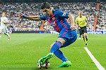Luis Suarez of FC Barcelona during the match of La Liga between Real Madrid and Futbol Club Barcelona at Santiago Bernabeu Stadium  in Madrid, Spain. April 23, 2017. (ALTERPHOTOS)