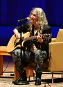MIAMI, FL - DECEMBER 17: Author/musician Patti Smith performs on stage during an Evening  about her new book 'Year of the Monkey' at Adrienne Arsht Center for the Performing Arts - Knight Concert Hall in partnership with Books & Books and the Miami Book Fair on December 17, 2019 in Miami, Florida. ( Photo by Johnny Louis / jlnphotography.com )