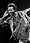 Chuck Berry 1973.© Chris Walter.