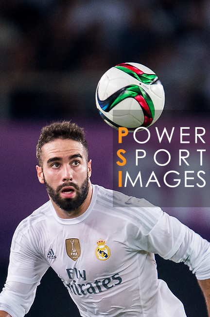 Dani Carvajal of Real Madrid CF in action during the FC Internazionale Milano vs Real Madrid  as part of the International Champions Cup 2015 at the Tianhe Sports Centre on 27 July 2015 in Guangzhou, China. Photo by Aitor Alcalde / Power Sport Images