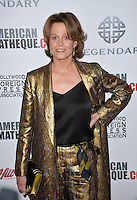 BEVERLY HILLS, CA. October 14, 2016: Sigourney Weaver at the 30th Annual American Cinematheque Award gala honoring Ridley Scott &amp; Sue Kroll at The Beverly Hilton Hotel, Beverly Hills.<br /> Picture: Paul Smith/Featureflash/SilverHub 0208 004 5359/ 07711 972644 Editors@silverhubmedia.com