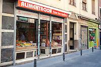 Walking in Madrid, Alimentacion