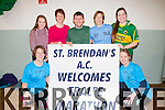 Fitness<br /> --------<br /> Pictured in the Ardfert community hall last Friday night preparing for the Tralee Marathon were l-R Rachel Fitzgerald,Kate O'Shea,Shelia Leen,Brian Lucid,Ursla Barrett,Laura McElligott and Chris O'Shea.<br /> -------------------------------------------------------------------------