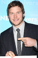 LOS ANGELES - JAN 6:  Chris Pratt arrives at the NBC Universal All-Star Winter TCA Party at The Athenauem on January 6, 2012 in Pasadena, CA