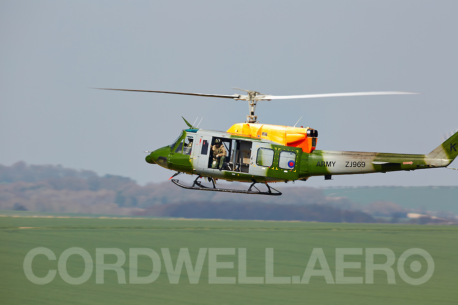 SPTA Bell Helicopter training exercise.
