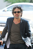 "July 09, 2012 Mark Ruffalo shooting on location for the new VH-1 film, ""Can a Song Save Your Life ?"" in New York City. © RW/MediaPunch Inc."