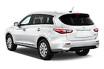 Rear three quarter view of a 2014 Infiniti QX60