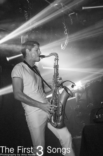 Dominic Lalli of Big Gigantic performs at Bogarts in Cincinnati, Ohio.