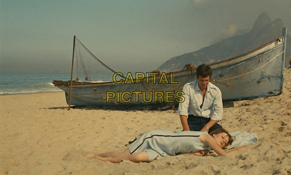 That Man from Rio (1964) <br /> (L'homme de Rio)<br /> Francoise Dorleac, Jean-Paul Belmondo<br /> *Filmstill - Editorial Use Only*<br /> CAP/KFS<br /> Image supplied by Capital Pictures