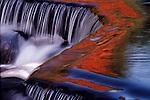 Bond Falls waterfall Upper Michigan.